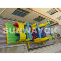 Wholesale Commercial Inflatable Obstacle Course For Kids , Bouncy Obstacle Course Hire from china suppliers