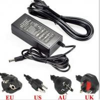 Wholesale 12V Ac Dc power adapter power supply 5a 10a 60W 100W UL ac dc power supply for CCTV camera LED strips with UL CE marked from china suppliers