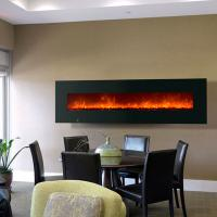 "Wholesale 95"" wall mounted fireplace WF-95  modern-indoor coal LED flame effect from china suppliers"