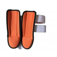 Wholesale Foam Stirrup Medical Ankle Brace Orange For Both Left And Right Foots from china suppliers