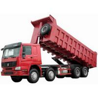 Wholesale CNHTC 8X4 tipper truck With 371 HP Engine 60 tons Loading Capacity and good transmission from china suppliers