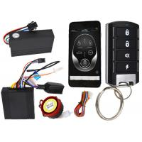 Wholesale Gsm Pke Scooter Security System , Remote Engine Starter Bicycle Alarm System With Remote from china suppliers