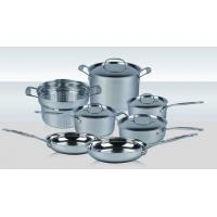 China 11 PCS Stainless Steel Cookware Set on sale