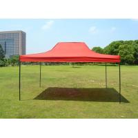 Wholesale Red 420D Oxford Folding Steel straight leg Canopy Tent 10 x 15 ft For BBQs And Fetes from china suppliers