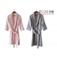 Wholesale Five Star Hotel Style Bathrobes 100 Cotton Material Different Colors from china suppliers