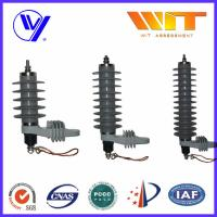 Wholesale 27KV High Voltage Surge Arrester Ceramic Silicone Housing with Hoop from china suppliers