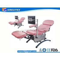 Wholesale Surgical Electric Blood Drawing Chair , Hospital Dialysis Chair for Patient  With Adjustment from china suppliers