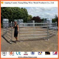 Wholesale horse corral panels portable horse panels horse panels for sale horse round pen from china suppliers