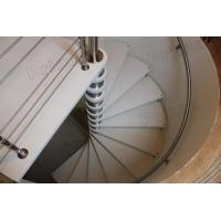 Wholesale timber oak trade metal spiral staircase price from china suppliers