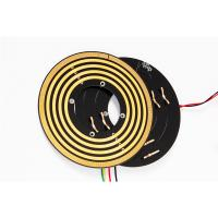 Quality Small Thickness Flat Pancake Slip Ring Low Contact Pressure For Robots Control System for sale