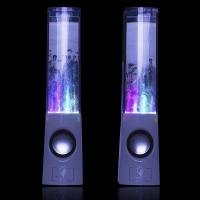 Wholesale USB Cool Desktop Computer Speakers , Bluetooth Led Water Dancing Fountain Speakers from china suppliers