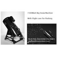 Wholesale Professional 1500W Fake Snow Machine , Stainless Steel Snow Cannon from china suppliers