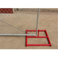 Wholesale 4FT X 12FT temporary chain link fence panels spacing 57mm*57mm*11.5ga diameter outer pipes 38mm from china suppliers