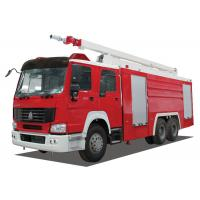 Inter Cooling Engine Fire Rescue Vehicles With TBD035181 Long Row Alarm Lamp