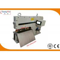 Buy cheap Pneumatic V - Groove PCB Cutting Machine With Solid Iron Robust Frame from wholesalers