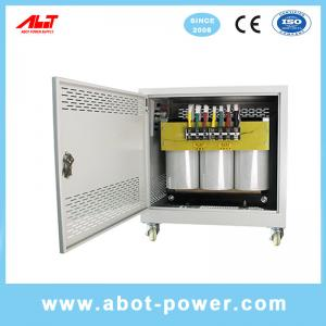 Wholesale ABOT 3 Phase to 3 Phase 220V to 380V Pure Copper Step Up Isolation Transformer 50KVA from china suppliers