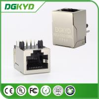 Wholesale KRJ-5921SNL Pcb Mountable shielded rj45 connector 1x1 / 1x2 / 2x2 port from china suppliers