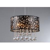 Wholesale 3 Lights Black PVC Contemporary Pendant Lighting E14 × 40W from china suppliers