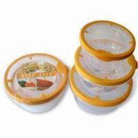 Wholesale Food Storage Containers in Round Shape Design, Various Sizes are Available from china suppliers