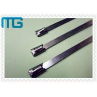 Wholesale Nature Color Cable Accessories Self Locking Stainless Steel Cable Ties Free Samples from china suppliers