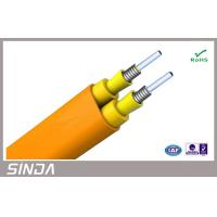 Wholesale Flexible double sheaths 62.5 / 125 fiber optic Cable for indoor distribution from china suppliers