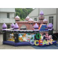 Quality Amusement Disney PVC Jumping Inflatable Playground For Kids Party Play for sale