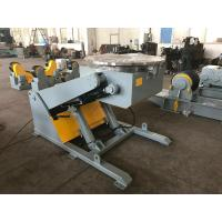 Buy cheap 3 T Hydraulic Rotary Table Pipe Welding Positioners With Hand Box And Foot Pedal from wholesalers