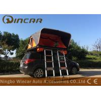 Wholesale Aluminum Frame Automatic Rooftop Tent With 2 Ladders , Vehicle Roof Rack Mounted Tent from china suppliers
