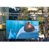 Wholesale Outdoor P6 Rental LED Displays Full Color High Brightness Waterproof Hanging Screen from china suppliers