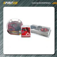 Wholesale CLEAR RED 4 Gauge 60Amp Car Amplifier Wiring Kit with huge power from china suppliers