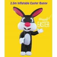 Wholesale Oxford Custom Style Indoor/ Yard 2.5m Inflatable Easter Bunny from china suppliers