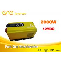 Wholesale UPS Solar Inverter Low frequency off grid inverter Single output dc converter 2kw 24v 220v from china suppliers