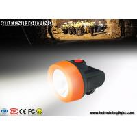 Wholesale ABS Light Weight LED Mining Light , IP68 grade Professional Miner Cap Lamp from china suppliers