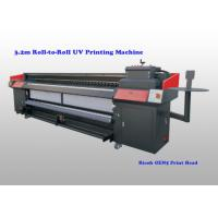 Wholesale Flatbed Uv Roll To Roll Printer For Flexible Substrates With Ricoh Gen5 Print Head from china suppliers