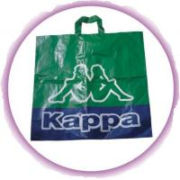 Wholesale CPE / LDPE / HDPE Soft Loop Handle Bag , Custom Plastic Shopping Bags from china suppliers