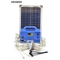Wholesale Heineer DC System-Solar Home System SG1230W,30W solar panel and 18AH battery from china suppliers