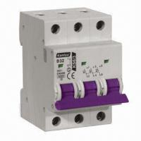 Buy cheap Mini Circuit Breaker with 6kA High-breaking Capacity from wholesalers