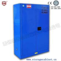 Wholesale Blue Chemical Liquid Sulfuric Corrosive Storage Cabinet Iron and steel weak corrosive chemicals from china suppliers
