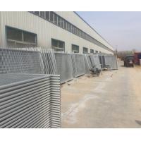 Quality 42 microns full hot dipped galvanized temp site fencing panels 2100mm x 2400mm for sale