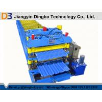 Wholesale Steel Tile Roll Forming Machinery 5.5KW With Hydraulic Control System from china suppliers