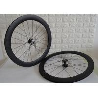Wholesale 700c Fixed Gear Carbon Track Wheelset 9mm Front Axle Single Speed Design from china suppliers