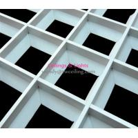 Wholesale Special pyramid Grid Ceiling Tile Ventilate Suspended System Design from china suppliers