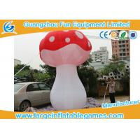 Wholesale 3.5mH Ligthting Inflatable Mushroom Props Model Water Proof Material from china suppliers
