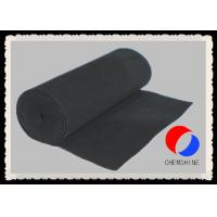 Wholesale Less Airflow Resistance Activated Carbon Felt 2MM Thickness In Filter System from china suppliers