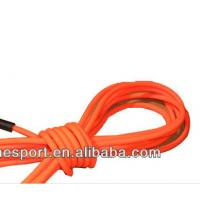 Wholesale 8mm diameter TPU round rope dog leash for pet walking orange color from china suppliers