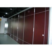 Wholesale Elegance Movable Partition Walls With Top Hung System , 100mm Thickness from china suppliers