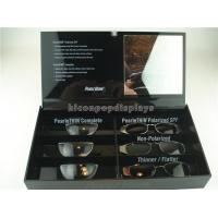 Wholesale Black Acrylic Sunglasses Display Case Countertop Visual Glasses Store Display Showcase from china suppliers