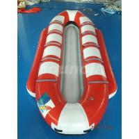 Wholesale Customized10 Seats Inflatable Banana Boat / Inflatable Water Ski For Lake from china suppliers