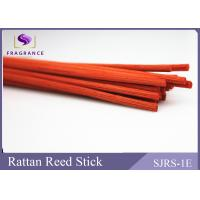 Wholesale AA Grade Rattan Reed Sticks Orange Color 3 mm Straight Eco - Friendly from china suppliers