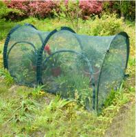 Quality 200*100*100cm Easy Shade Cloth Garden , Grow Tunnel Shade Cover For Garden 14KG 210D oxford PA coated, UV50+, 90gsm poly for sale